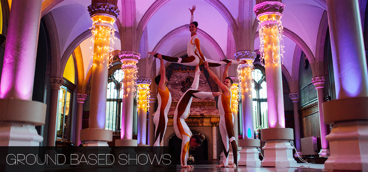 Ground Based Shows | Corporate Acrobatic Acts